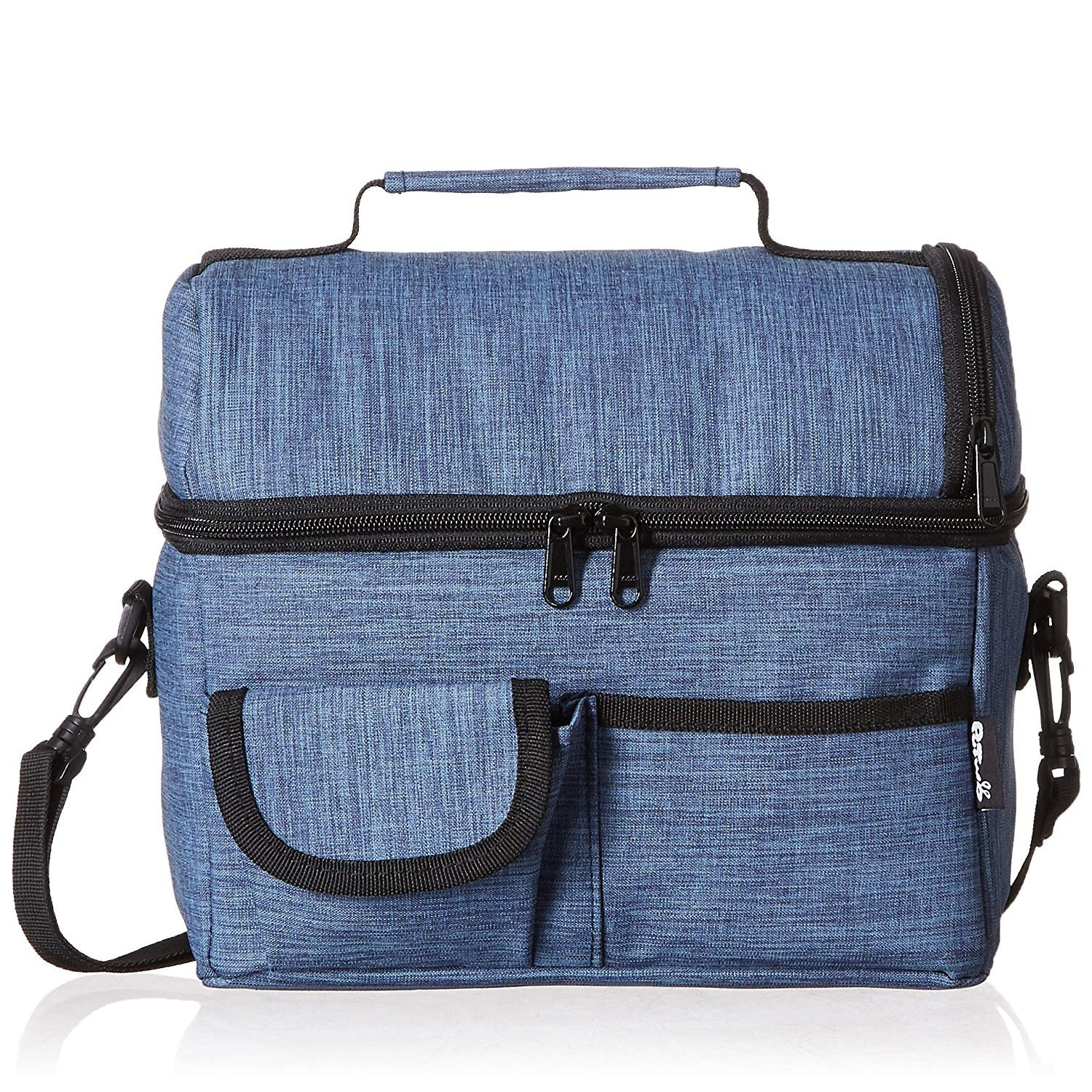 PuTwo Lunch Bag 8L Insulated Lunch Bag Lunch Box Lunch Bags for Women Lunch  Bag for Men Cooler Bag with YKK Zip and Adjustable Shoulder Strap Lunch Tote  for ... 84319418e