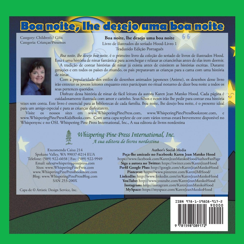 Goodnight, I Wish You Goodnight - Translated Portuguese: Volume 1 Hood Picture Book Series: Amazon.es: Karen Jean Matsko Hood: Libros en idiomas extranjeros