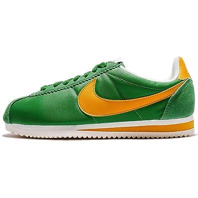 pretty nice 72211 b8e7b Nike Classic Cortez Nylon Premium Verde XLV Amazon.es Zapatos y  complementos