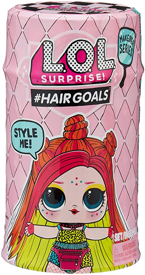 Surprise L.O.L #Hairgoals Makeover Series 2 With 15 Surprises Collect Them All