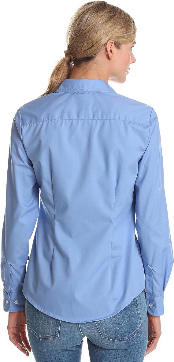 Dickies Benham Longsleeve Kleid Damen überlang Tee shirt