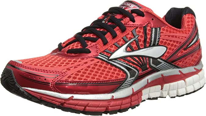BrooksAdrenaline GST 14 Men - correr hombre, High Risk Red/Black ...