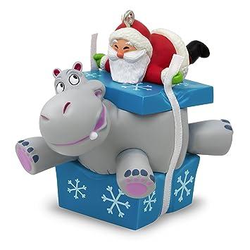 Image Unavailable - Amazon.com: Hallmark Keepsake 2017 I Want A Hippopotamus For