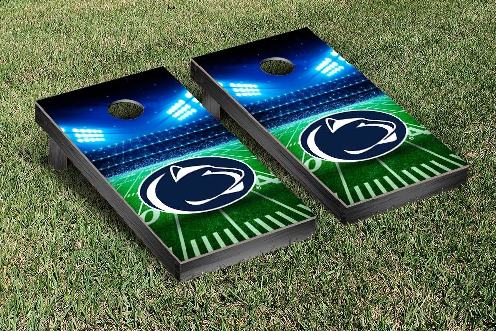 Penn State PSU Nittany Lions Regulation Cornhole Game Set Stadium Version by Victory Tailgate