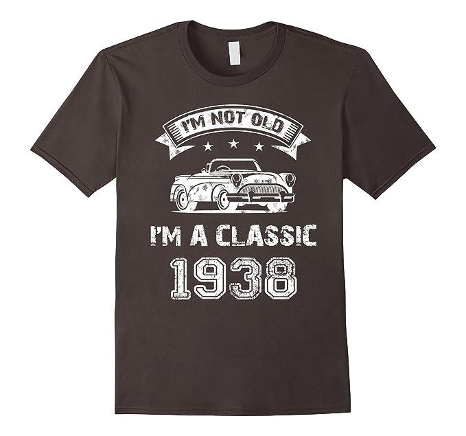 Mens Im A Classic 1938 80th Birthday T Shirt 2XL Asphalt