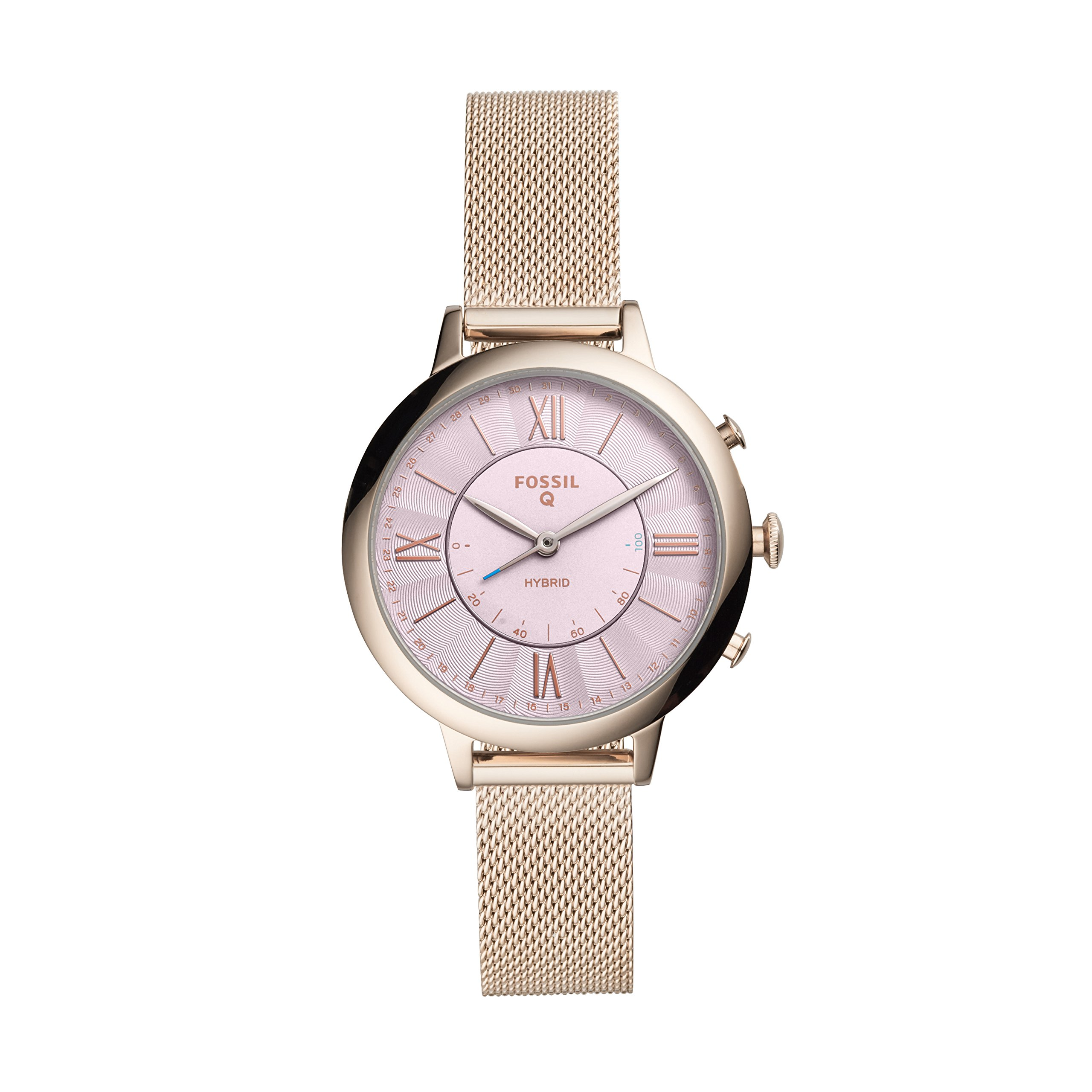 Fossil Women's Jacqueline Stainless Steel Hybrid Smartwatch by Fossil