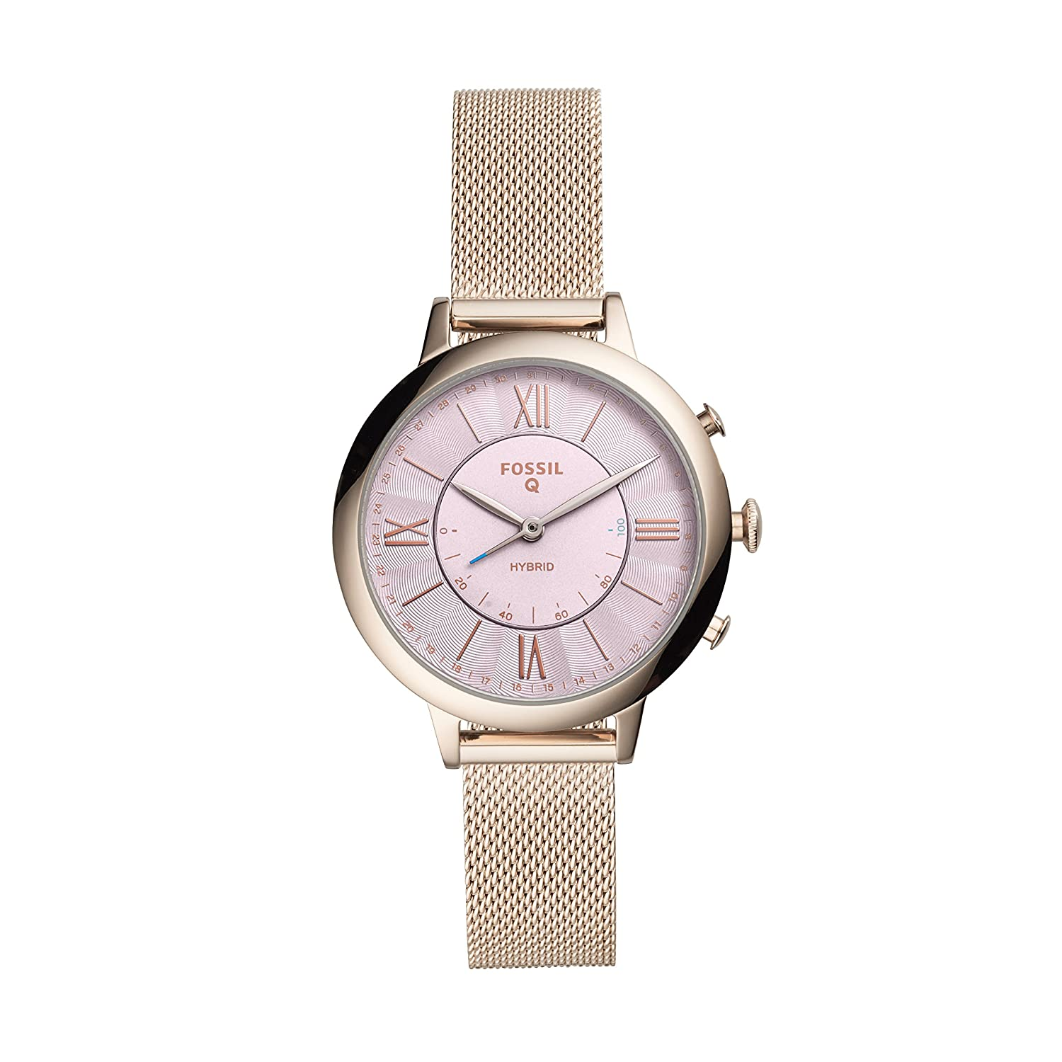 Fossil Womens Jacqueline Stainless Steel Hybrid Smartwatch