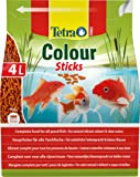 Tetra Pond Colour Sticks for Natural Vibrant Colours of All Pond Fish and Clean Water, 4 Litre