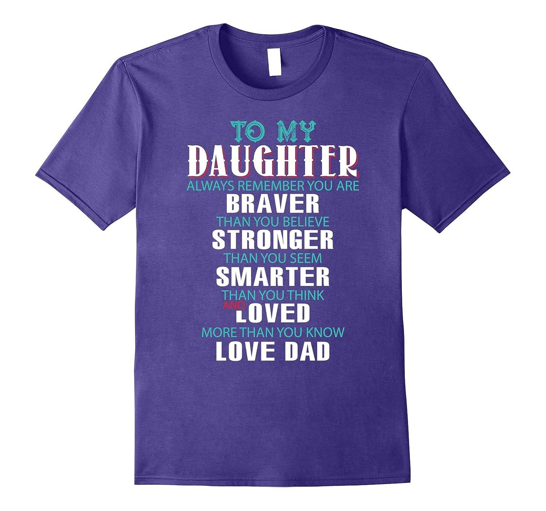 Daughter T-shirt To My Daughter T-shirt-Art