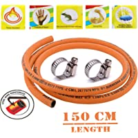 Fogger Suraksha LPG Rubber Hose Pipe (Steel Wire Reinforced) ISI Marked for LPG Stoves