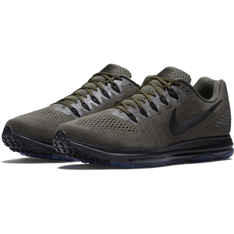NIKE Zoom All Out Low Men's Running Sneaker B0059KL4BA 10.5 D(M) US|Cargo Khaki/ Black