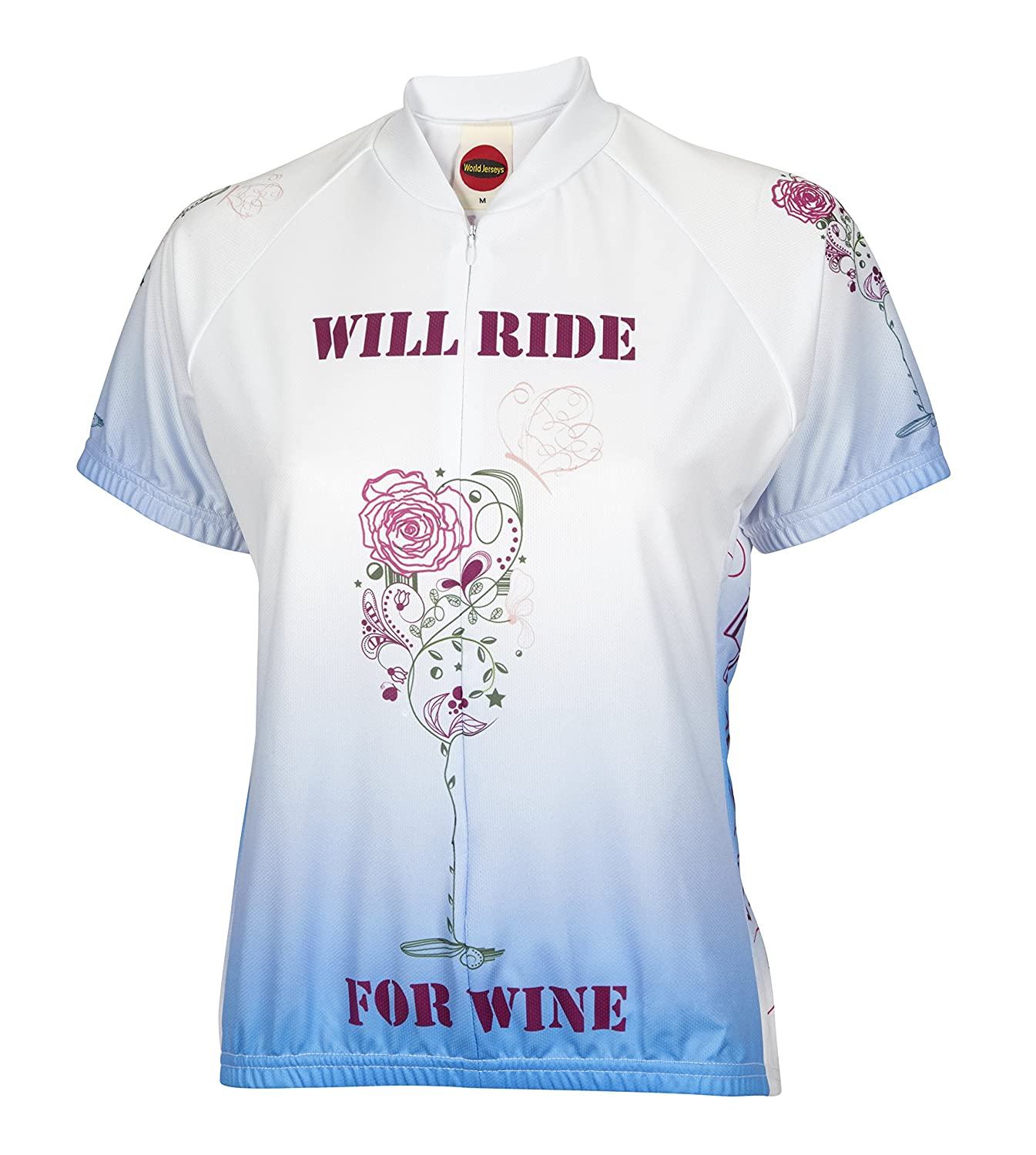 BDI Cycling Apparel BDI Damen Love Wein Radtrikot