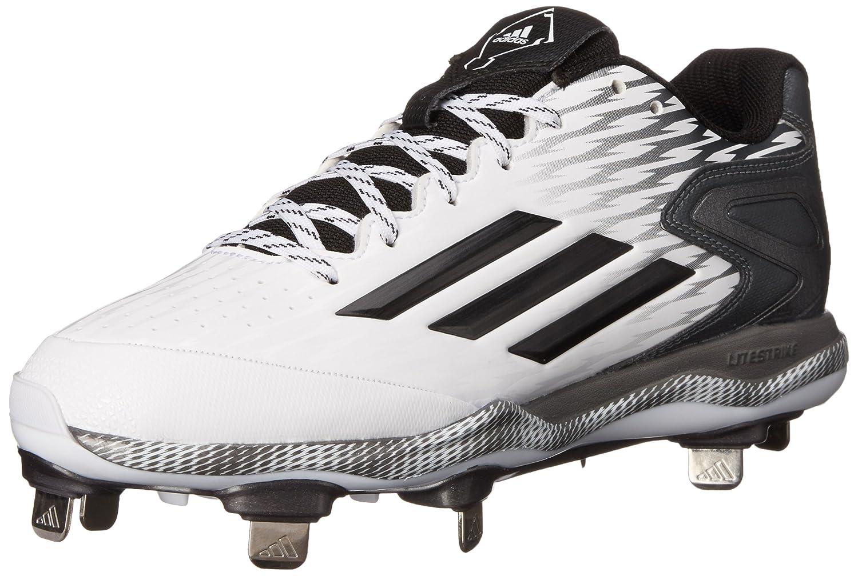 adidas Performance Women's PowerAlley 3 W Softball Cleat B00VQG4UUS 6.5 B(M) US|White/Black/Carbon Metallic