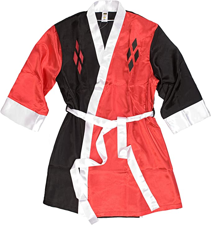 DC Comics Harley Quinn Deluxe Exclusive Adult Robe L//XL