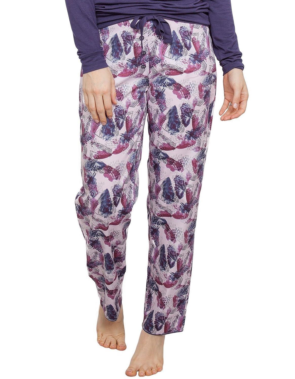 Cyberjammies Cassie Abstract Print Pyjama Trousers - Pink/Purple 3868