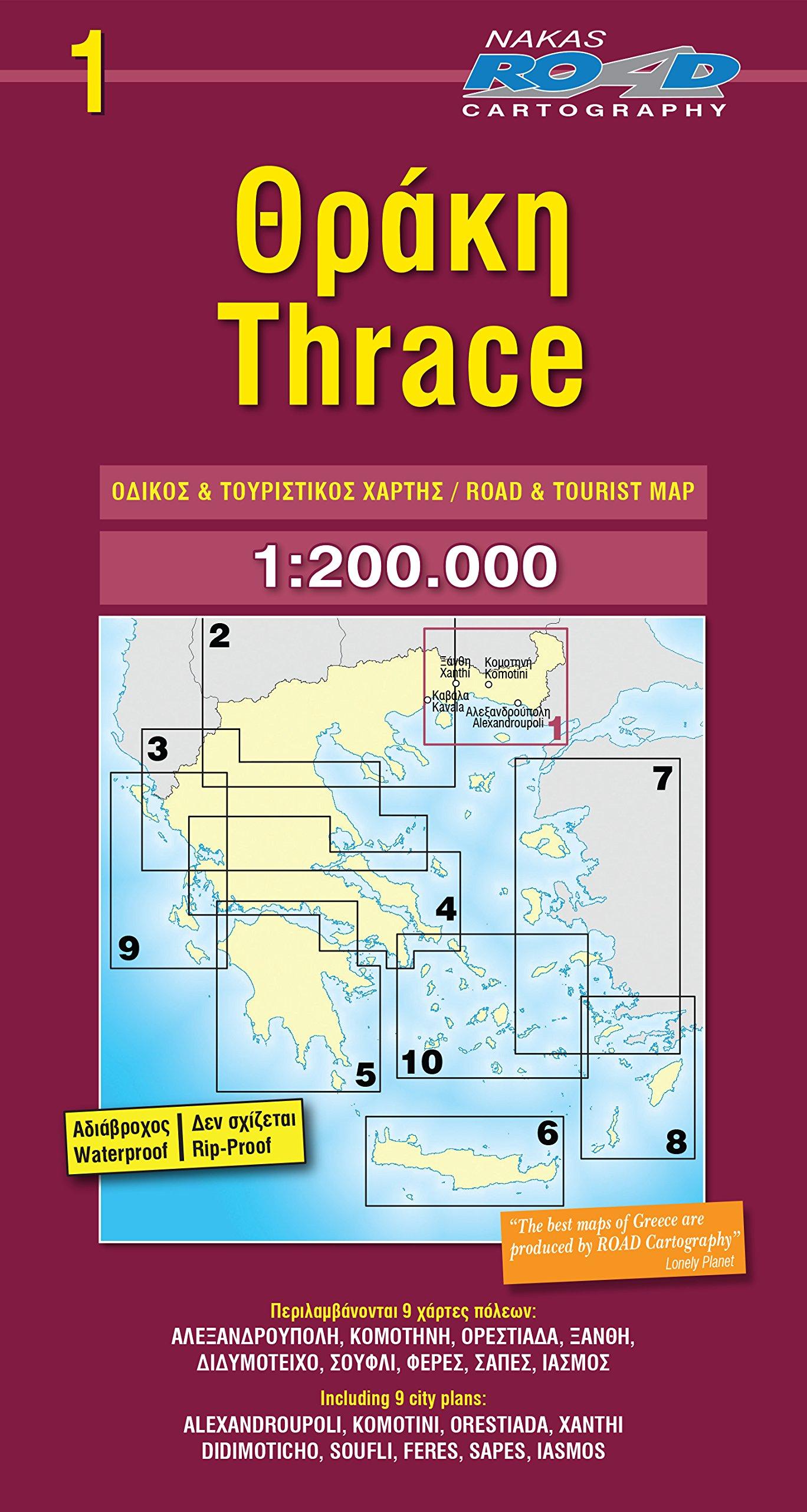 Thrace 1 : 200 000