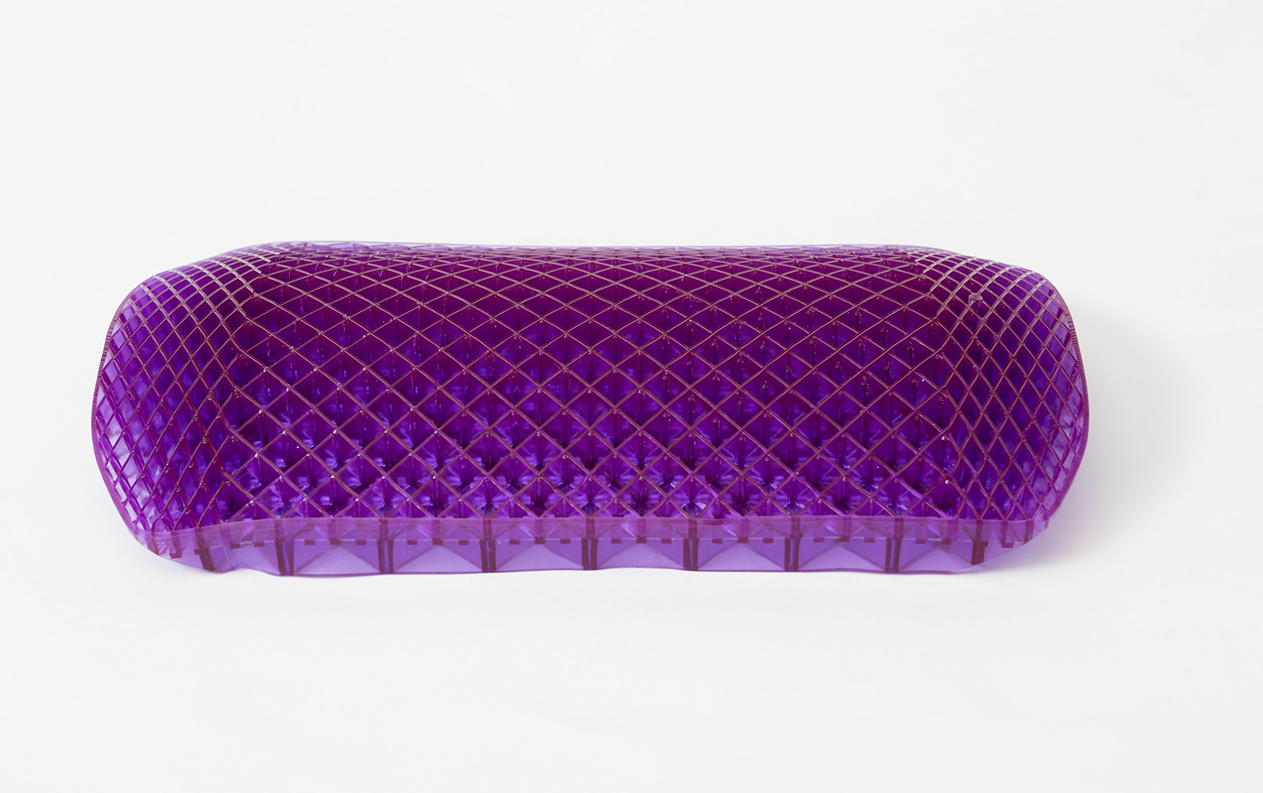 Purple Seat Cushion Back   Seat Cushion For The Car Or Office Chair   Can  Help