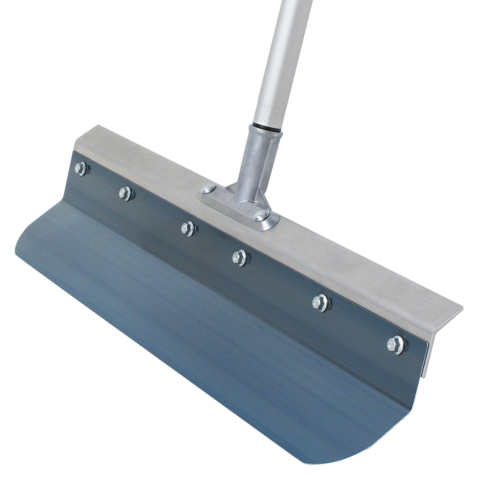 Kraft Tool Kraft GG608 24'' Flexible Blue Steel Bent Blade Smoother with Handle (1per Pack)