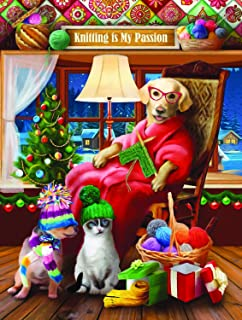 product image for Another Knitted Gift from Grandma 300 pc Jigsaw Puzzle by SUNSOUT INC