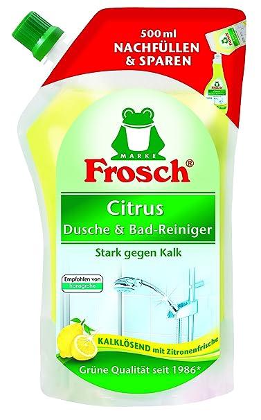 Rana Citrus ducha & baño limpiador deshumidificación, 4 unidades (4 x 500 ...