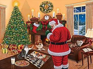 SunsOut 45865 - Bond: Santa solves the puzzle - puzzle 1000 pezzi