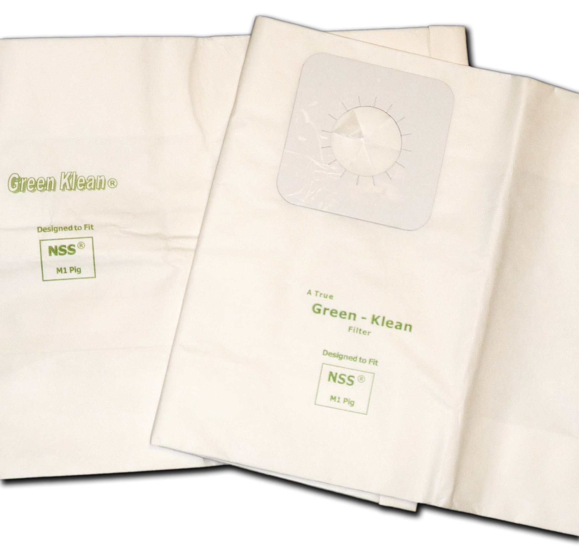 Green Klean GK-M1Pig NSS MPIG Replacement Vacuum Bags (Pack of 36) by Green Klean®