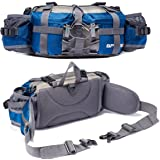 Bp Vision Outdoor Fanny Pack Hiking Camping Fishing Waist bag 2 Water Bottle Holder Lumbar Pack