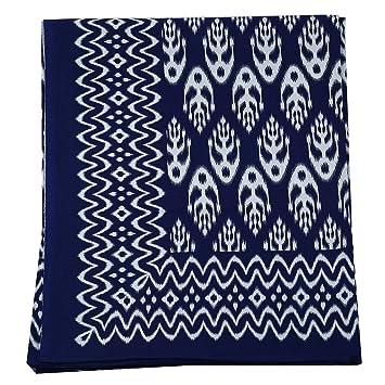 Amazon Com Indigenous Handicrafts Ikat Design Screen Printed Double