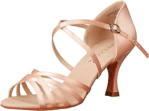 """New Capezio SD02 Social Dance Rosa 2.5/"""" Heel"""