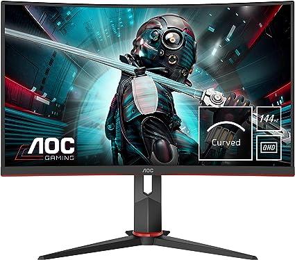 AOC CQ27G2U/BK- Monitor Gaming Curvo de 27