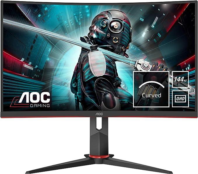 27 Zoll WQHD Monitor mit 144 Hz AOC Test
