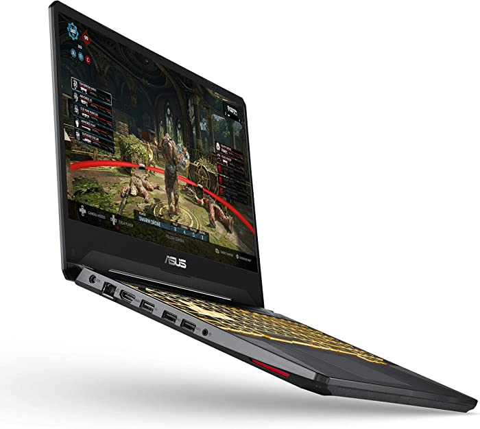 "Asus TUF Gaming Laptop, 15.6"" Full HD IPS-Type, Intel Core i7-9750H, GeForce GTX 1650, 8GB DDR4, 512GB PCIe SSD, Gigabit Wi-Fi 5, Windows 10 Home, TUF505GT-AH73"