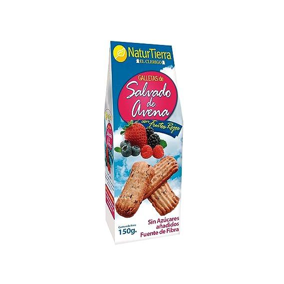 Naturtierra - Galletas de avena con frutos rojos - 150 g