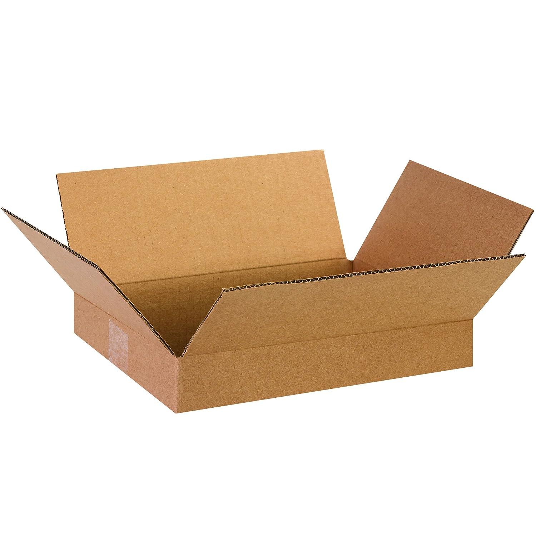 Amazon.com: Caja EE. UU. b13102 plana Cajas de Cartón, 13