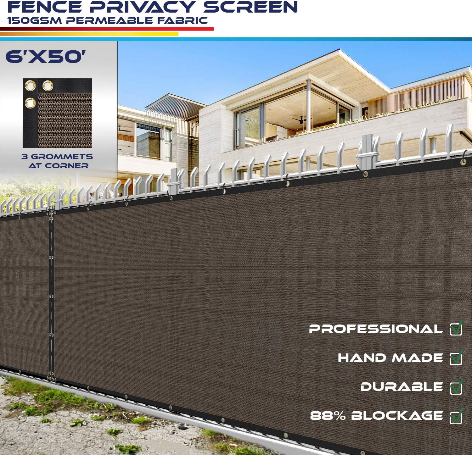 Windscreen4less Heavy Duty Fence