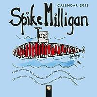 Spike Milligan - mini wall calendar 2019 (Art Calendar) (Mini Square)