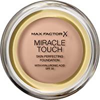 Max Factor Miracle Touch Foundation, Warm Almond, 11.5 ml