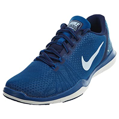 new product e1372 73d95 Nike Women s Flex Supreme TR 5 Indigo Training Shoe Binary Blue White Blue  Jay