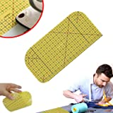 Hot Ironing Ruler,Hot Ironing Measuring Ruler, Patchwork Tools for Clothing Making, DIY Dry or Steam Ironing Fabric Heat…