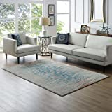 Modway Hesper Distressed Contemporary Floral