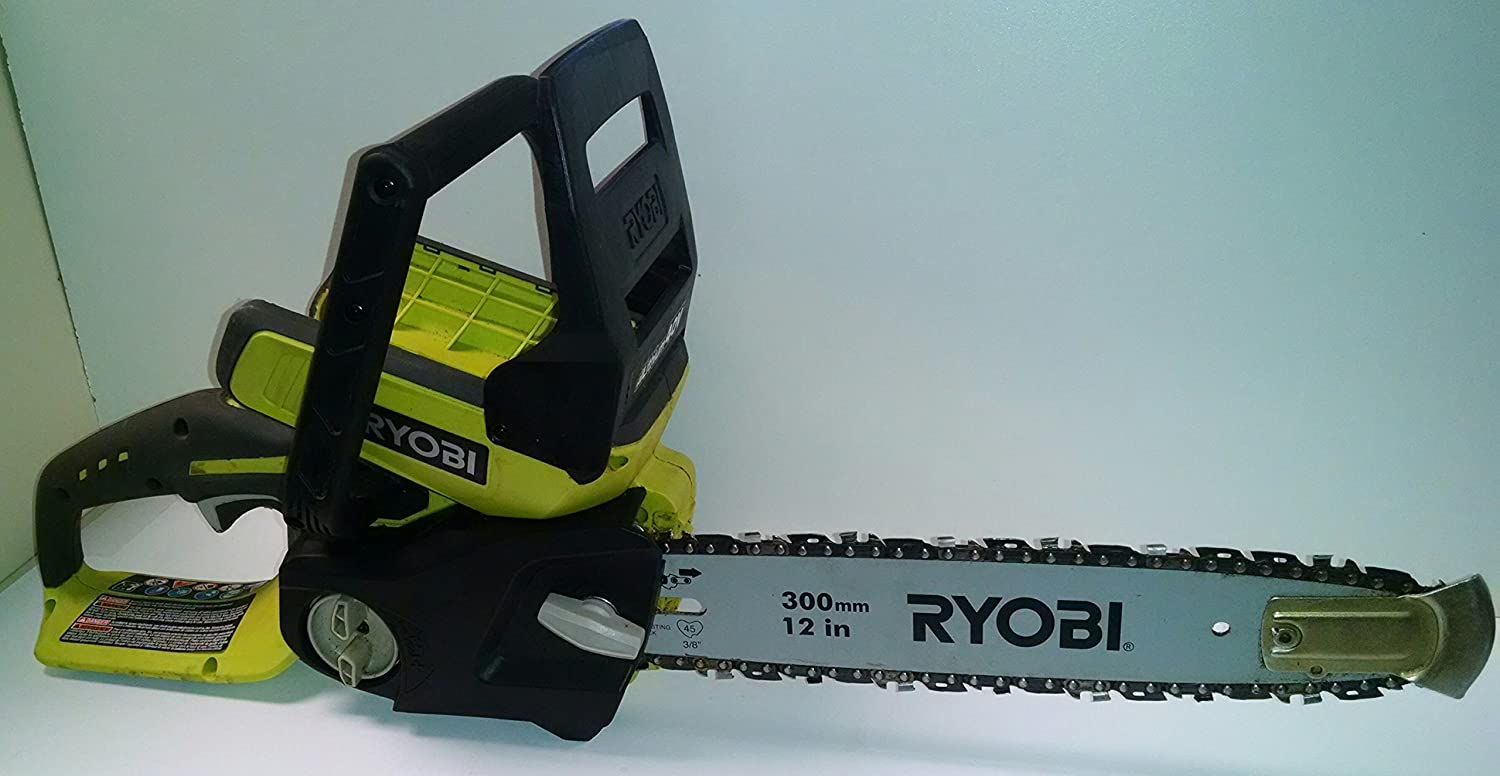 Amazon ryobi 40 volt cordless chainsaw battery and charger amazon ryobi 40 volt cordless chainsaw battery and charger not included power chain saws garden outdoor greentooth Images