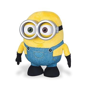 Les Minions - Minion Bob - Peluche 20 cm