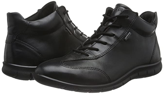 Ecco Damen Babett Hohe Sneakers, Schwarz (BLACK01001), 37 EU