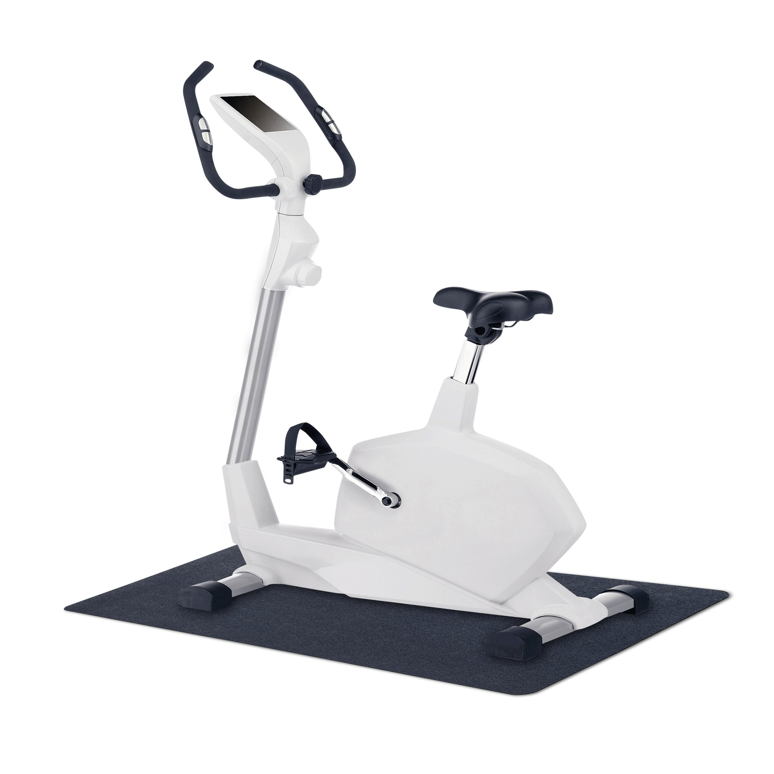 MotionTex 8M-110-24C-4 Fitness Equipment Mat, 24'' x 48'', Black by MotionTex