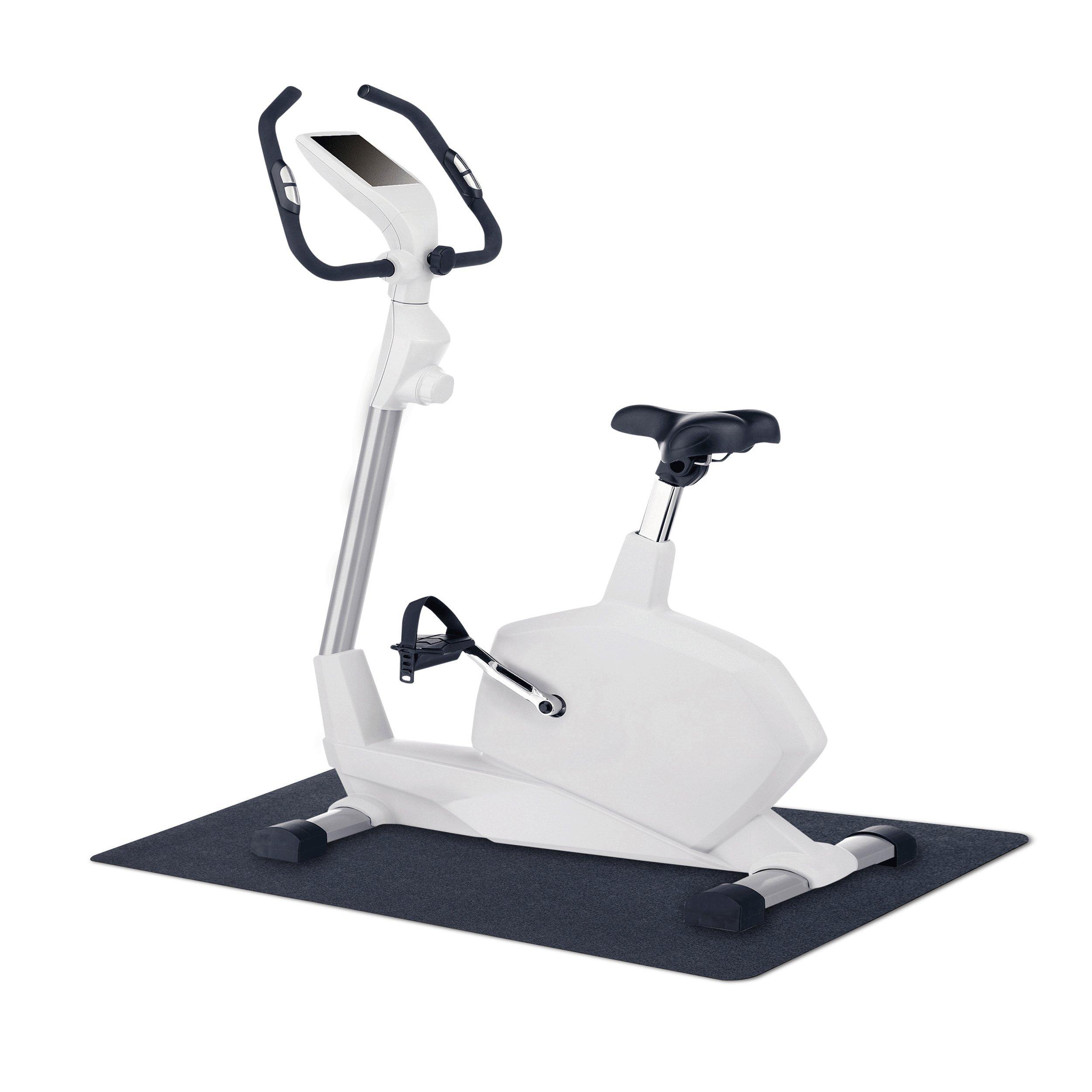 MotionTex 8M-110-24C-4 Fitness Equipment Mat, 24'' x 48'', Black