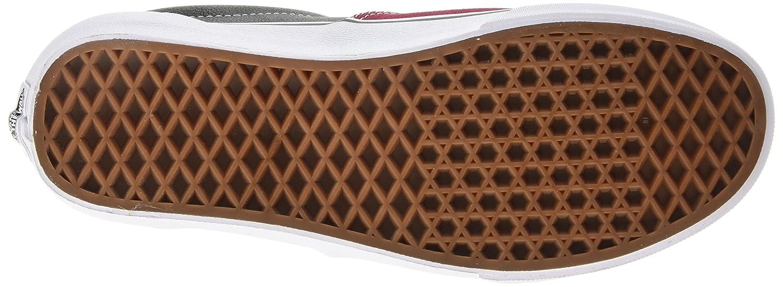 Furgonetas Era Unisex (cuero / Tela Escocesa) Zapato De Skate 4Vy7WYAqb