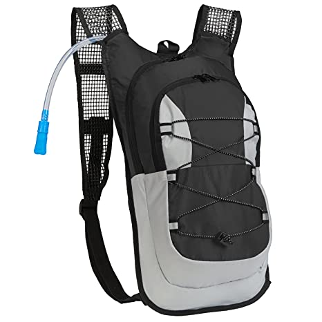 Equipped Outdoors Survival Hydration Pack - 2 Liter Water Bladder with  Extra Large Storage Compartment fc62ada97e6c2