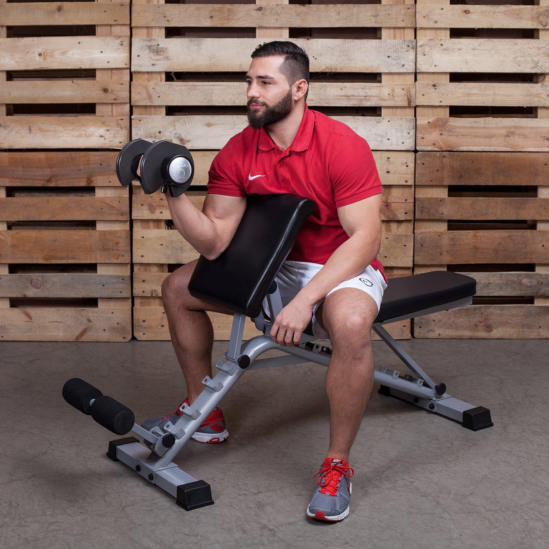 Support des jambes pour l/'entrainement du ventre Syst/ème de montage intelligent Pour les hyper extensions Avecplan d/'entrainement et guide Banc de musculation professionnel 3 en 1 Pour l/'entrainement des biceps et du dos