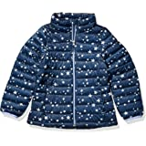 Amazon Essentials Girl's Lightweight Water-Resistant Packable Puffer Jacket
