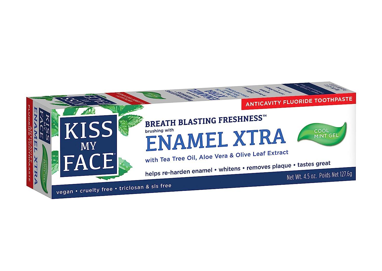 Kiss My Face Extra Gel Toothpaste, Enamel, 4.5 Ounce